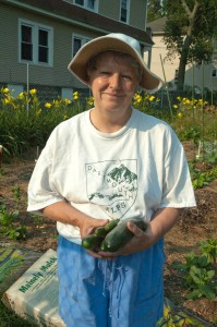 Community Garden Coordinator, Sheila McEwaine